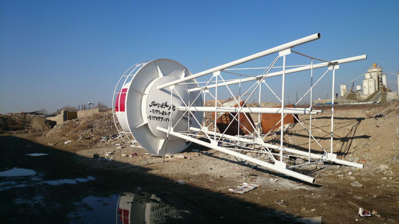 تصویر تانکر سازی رستاک - ساخت تانکر هوایی (مخزن هوایی) ۱۲