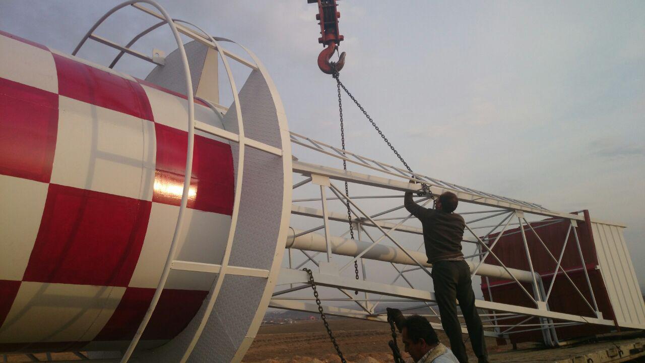 تصویر تانکر سازی رستاک - ساخت تانکر هوایی (مخزن هوایی) ۱۳