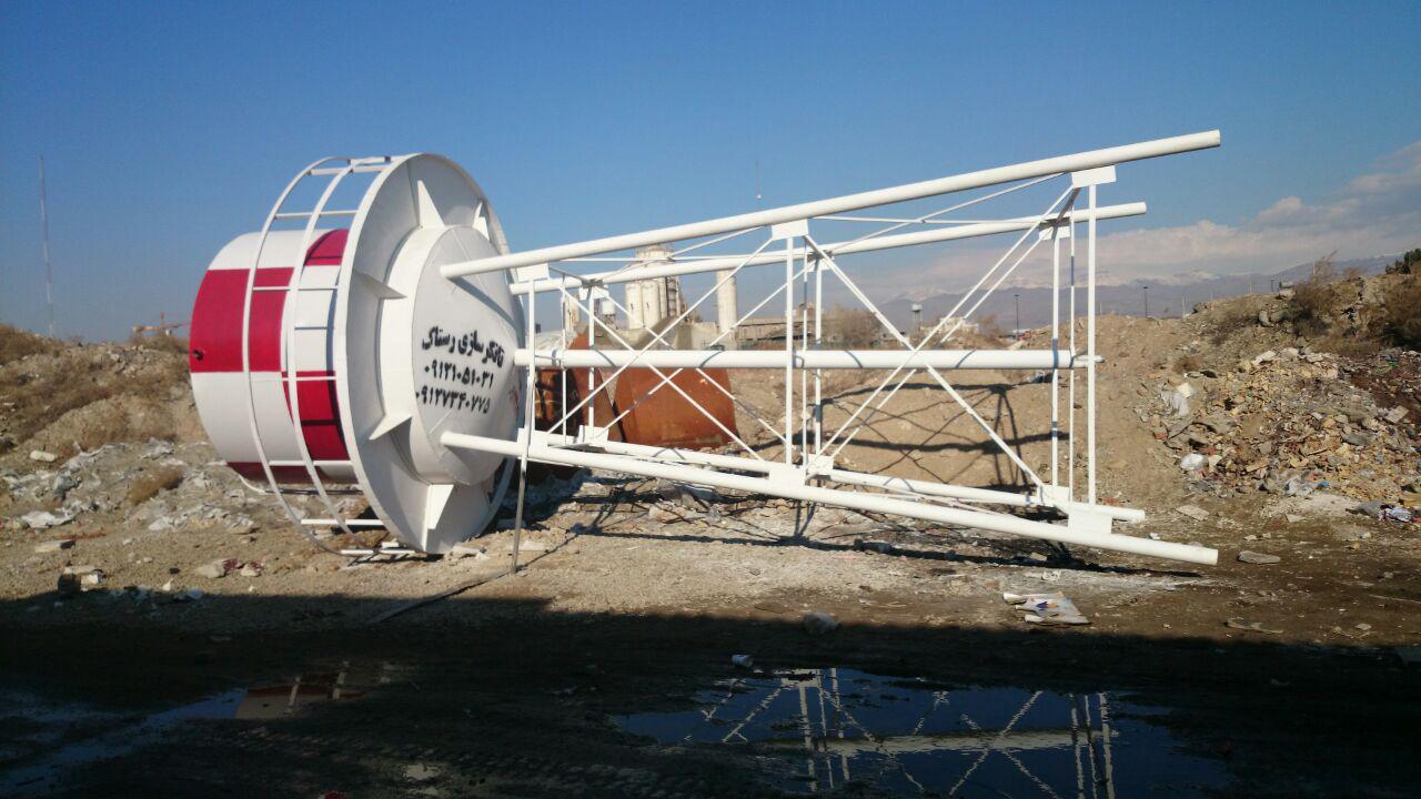 تصویر تانکر سازی رستاک - ساخت تانکر هوایی (مخزن هوایی) ۱۴