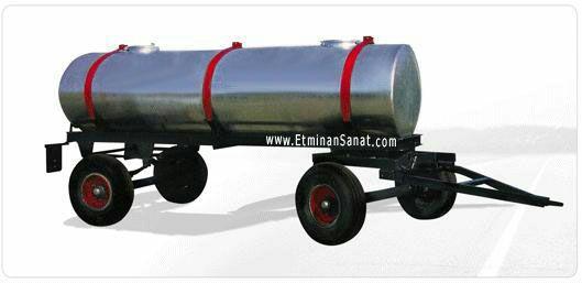 تانکر سازی رستاک - ساخت انواع تانکر چرخدار (یدک کش) ۱